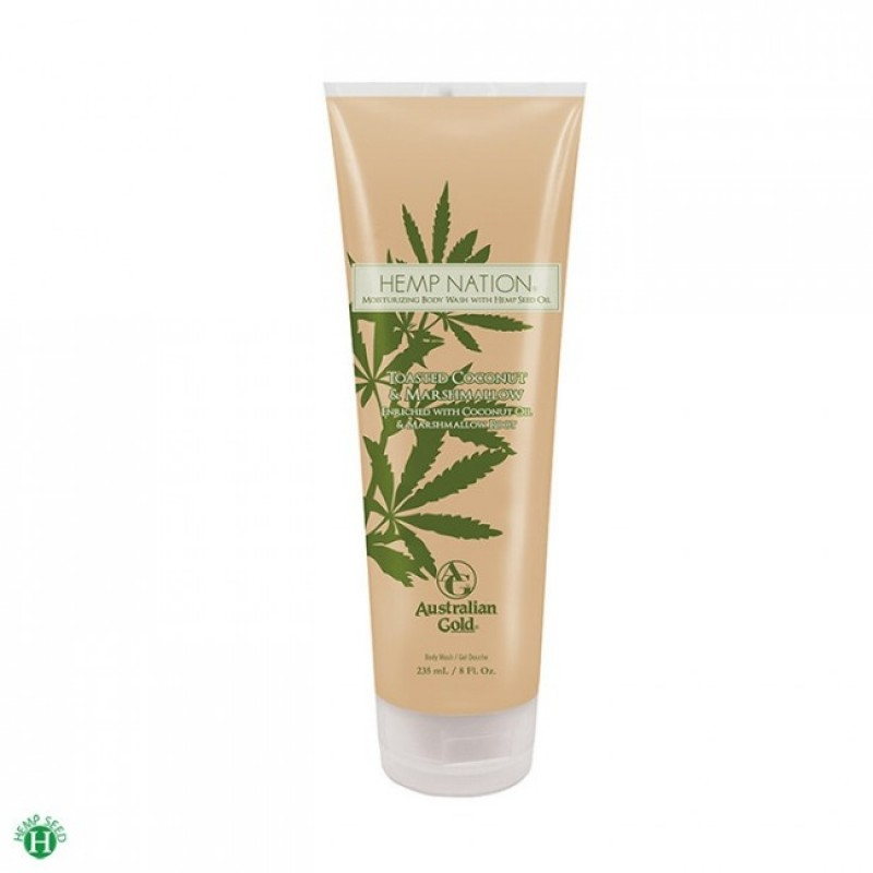 Australian Gold Hemp Nation Toasted Coconut & Marshmallow Body Wash