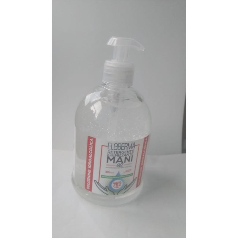 Gel Igienizzante mani da 500 Ml - 75% Alcool con Aloe Vera