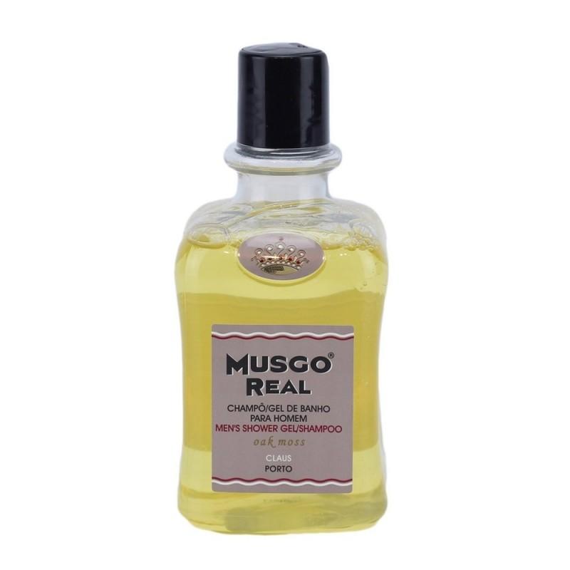 MUSGO REAL SHOWER GEL ORANGE AMBER 300ML