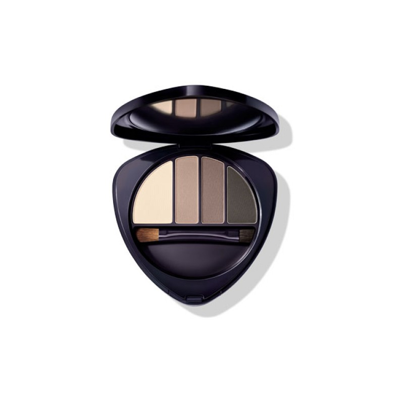 DR HAUSCHKA MALLOW EYE AND BROW PALETTE 01 STONE 5,3 G