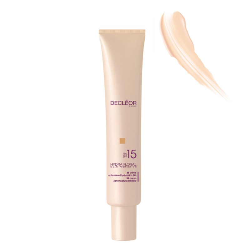 DECLEOR HYDRA FLORAL BB CREME ACTIVATRICE D'HYDRATATION 24H SPF 15 CLAIR TUBO 40 ML