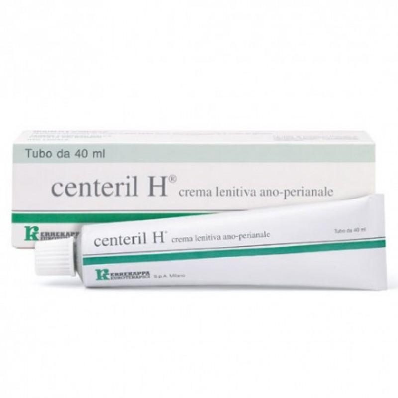 CENTERIL H CREMA LENITIVA RETTALE 40 G