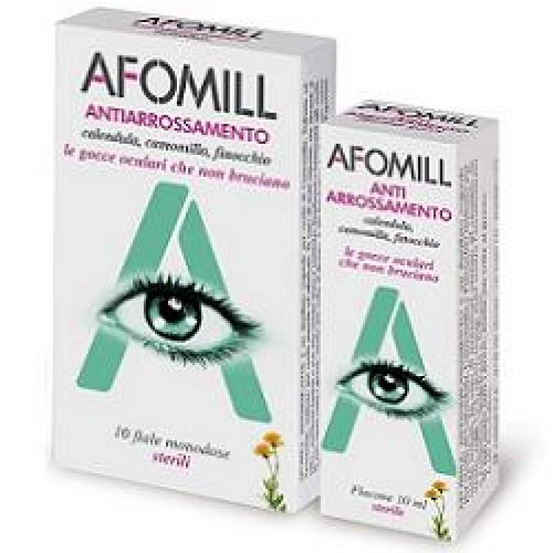 AFOMILL ANTIARROSSAMENTO GOCCE OCULARI 10 FIALE MONODOSE 0,5 ML