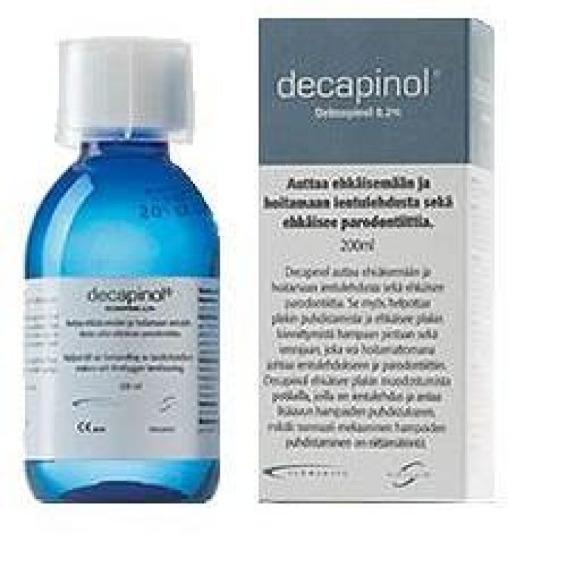 COLLUTORIO DECAPINOL 300 ML