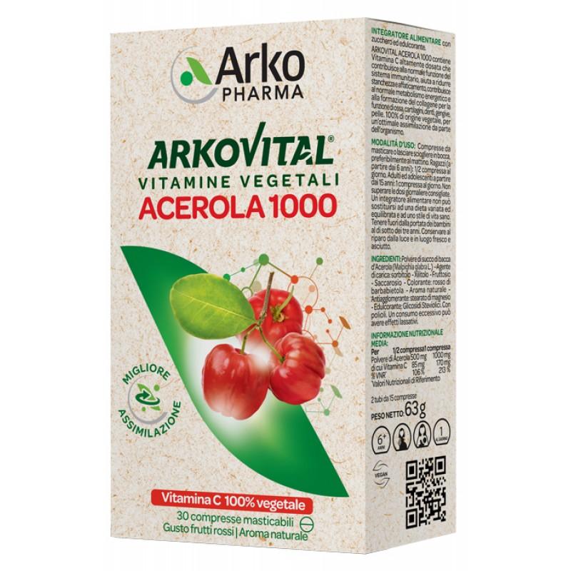 ACEROLA 30CPR MASTICABILE