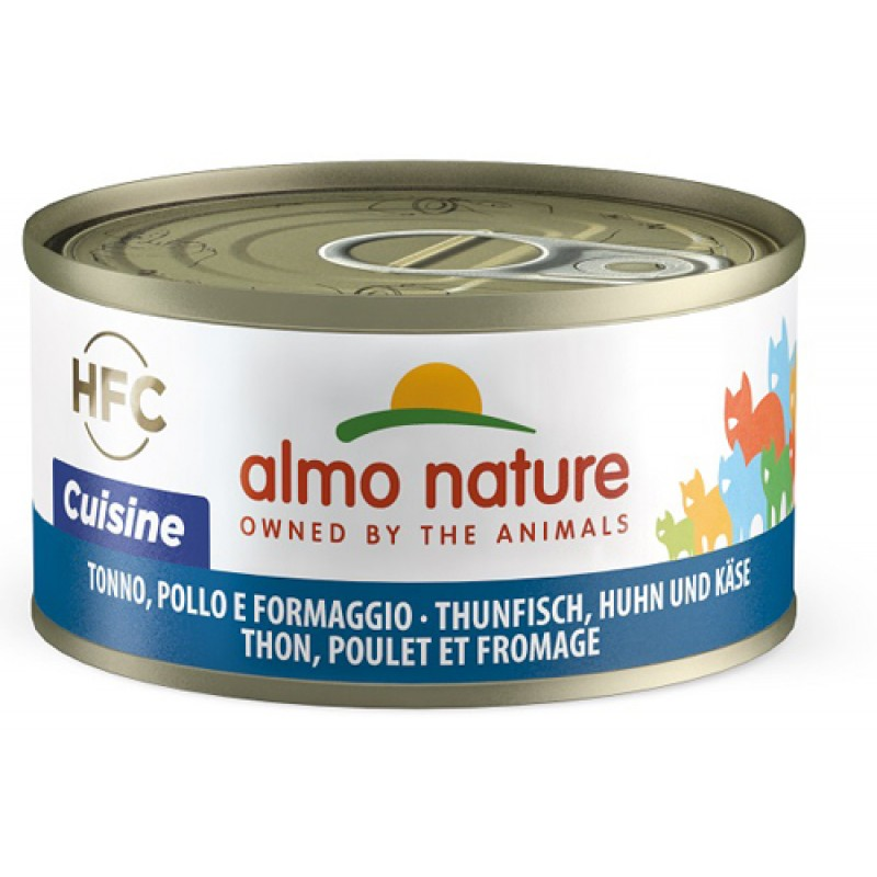 ALMO NATURE CAT TONNO FORM 70G