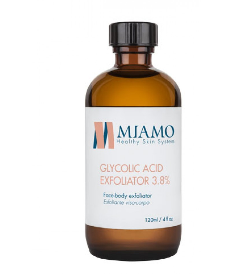 MIAMO TOTAL CARE GLYCOLIC ACID EXFOLIATOR 3 8% 120 ML ESFOLIANTE VISO-CORPO