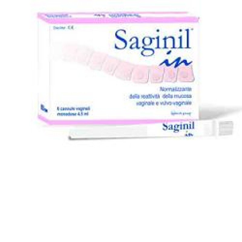 CANNULA VAGINALE SAGINIL IN DA 4,5ML MONODOSE 5 PEZZI