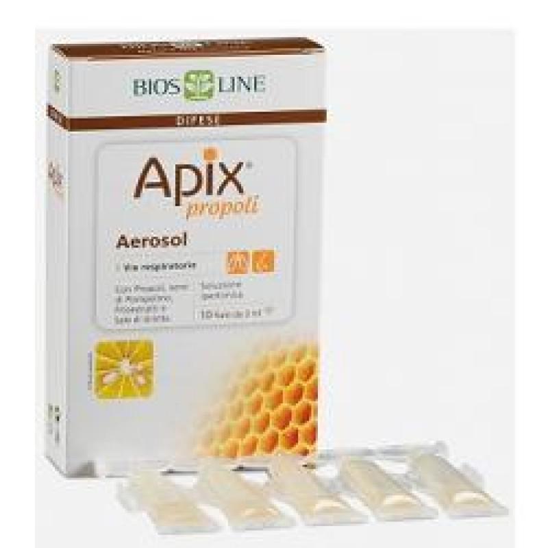 APIX PROPOLI AEROSOL 10 FIALE MONODOSE X 2 ML