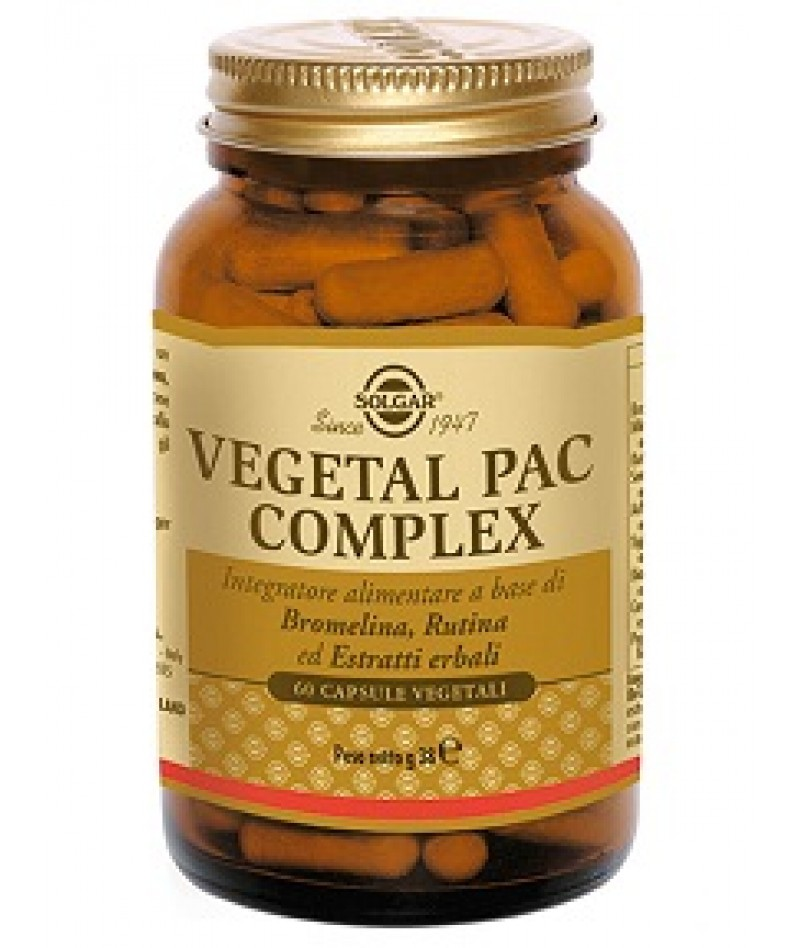 VEGETAL PAC COMPLEX 60 CAPSULE