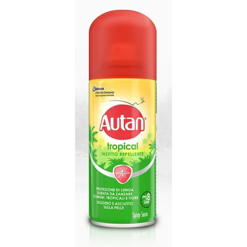 AUTAN TROPICAL SPRAY SECCO 100 ML