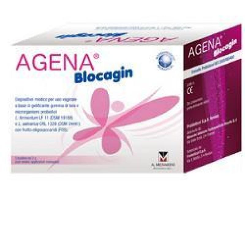 AGENA BLOCAGIN 5 FLACONI + 5 BUSTE + 5 APPLICATORI MONOUSO STERILI