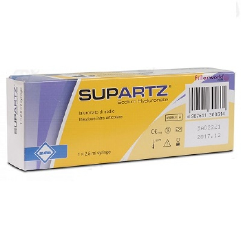 SIRINGA INTRA-ARTICOLARE SUPARTZ ACIDO IALURONICO 10 MG 2,5 ML