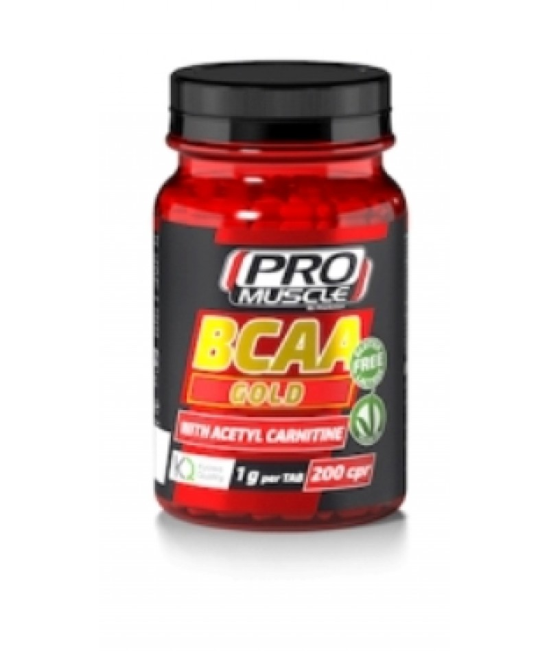 PROMUSCLE BCAA GOLD 200 COMPRESSE
