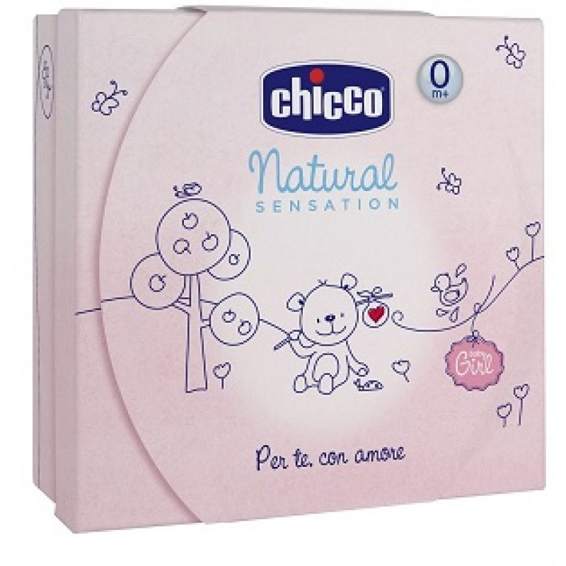 CHICCO COFANETTO REGALO NATURAL SENSATION PICCOLO GIRL
