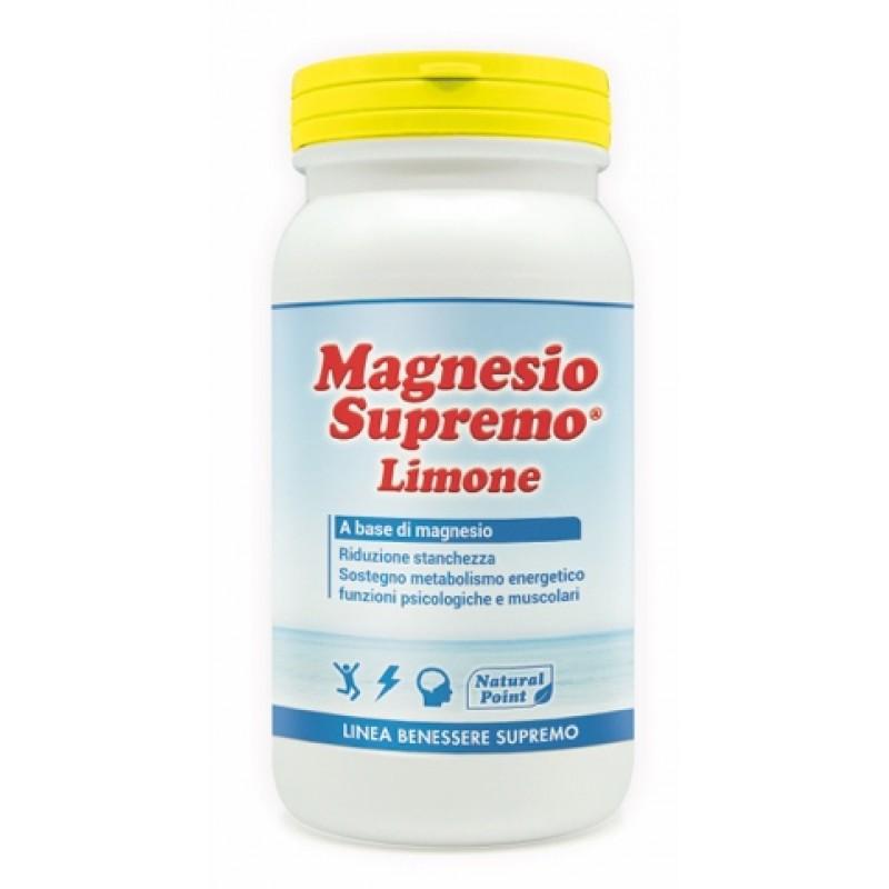 MAGNESIO SUPREMO LEMON POLVERE 150 G