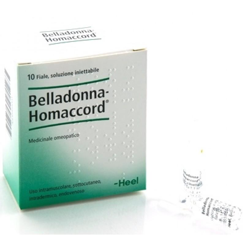 BELLADONNA HOMAC 10F 1,1MLHEEL
