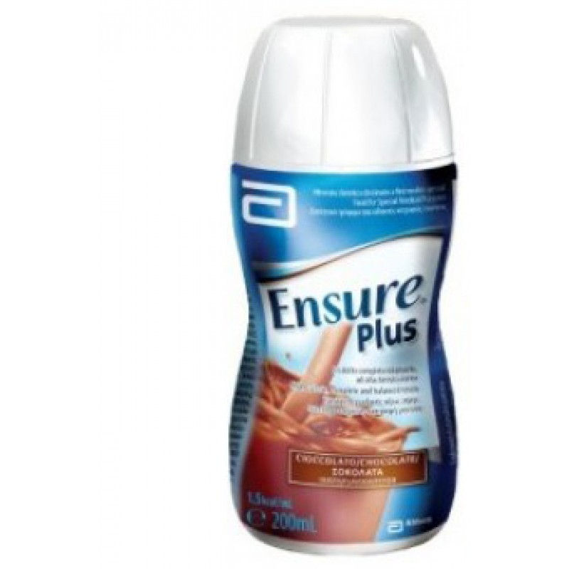 ENSURE PLUS CHOCOLATE 4X200ML