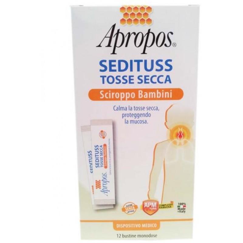 APROPOS SEDITUSS TOSSE SECCA BAMBINI BUSTINE