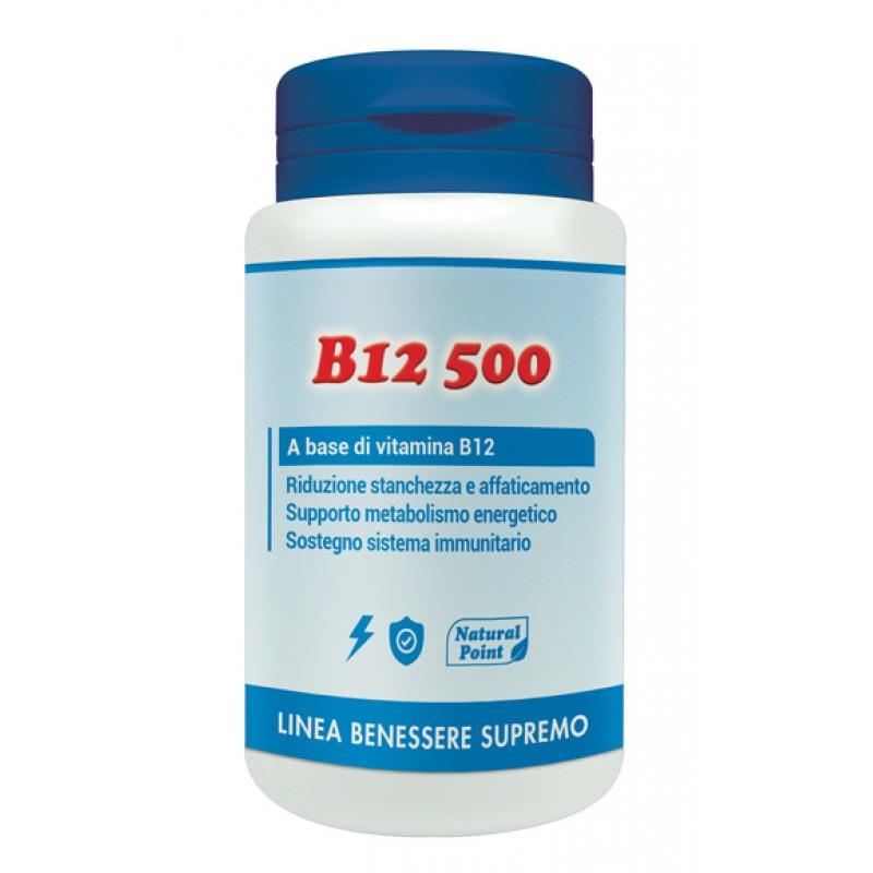 B12 500 CIANOCOBALAMINA 100 CAPSULE VEGETALI