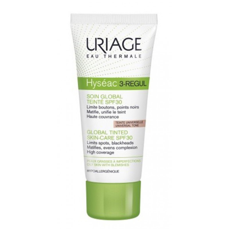HYSEAC 3-REGUL CREAM COLORATE SP30 40 ML