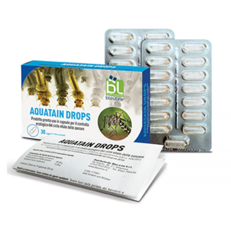AQUATAIN DROPS 15 CAPSULE X 2 BLISTER
