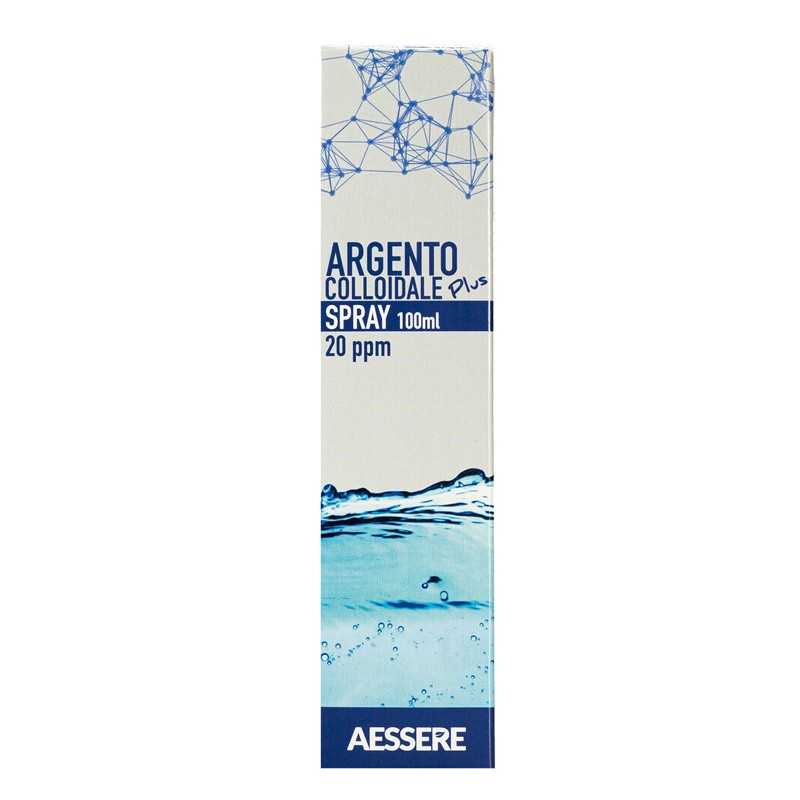 ARGENTO COLLOIDALE PLUS SPRAY 100 ML