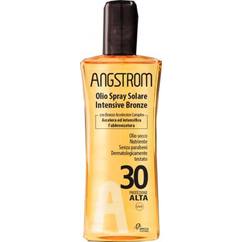 ANGSTROM OLIO SOLARE SPRAY INTENSIVE TAN SPF 30 TP 150 ML