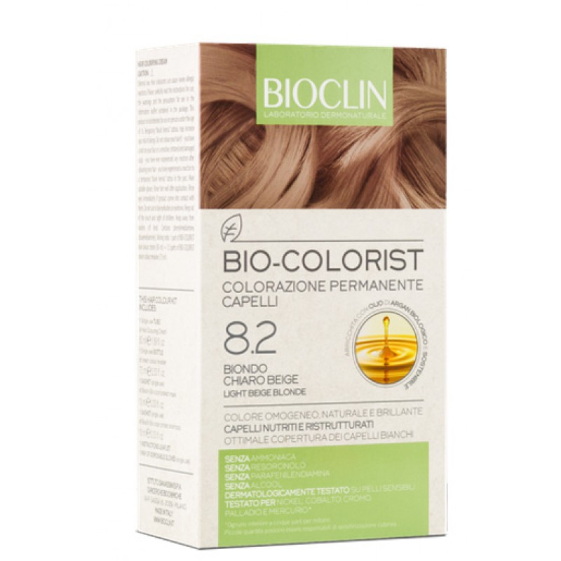 BIOCLIN BIO COLORIST 8,2 BIONDO CHIARO BEIGE