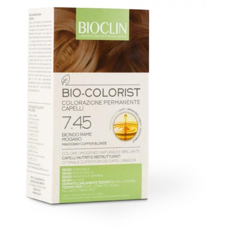 BIOCLIN BIO COLORIST 7,45 BIONDO RAME MOGANO