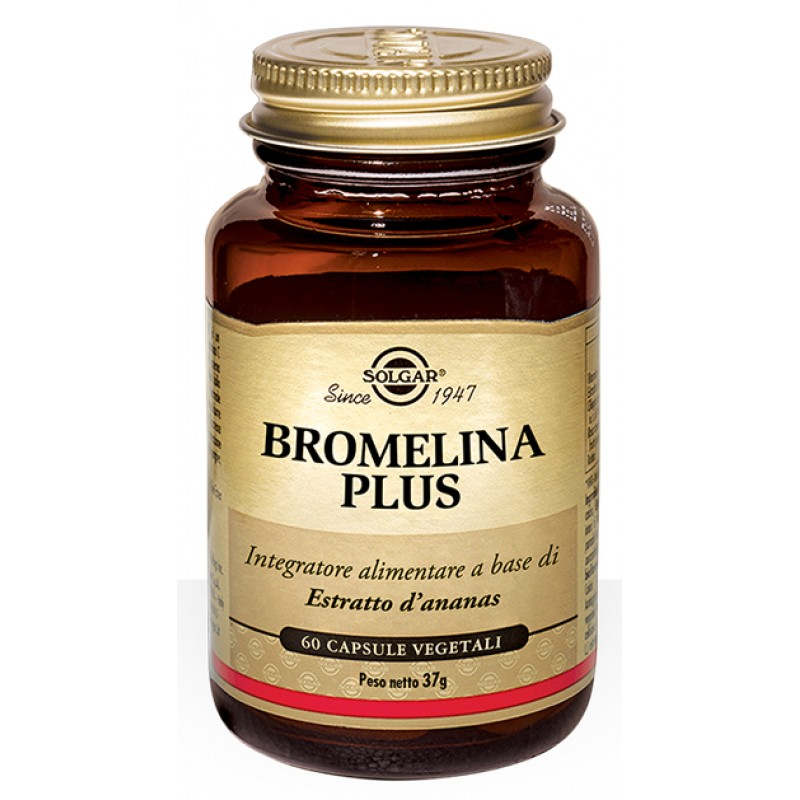 BROMELINA PLUS 60 CAPSULE