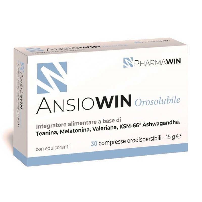 ANSIOWIN OROSOLUBILE 30 COMPRESSE