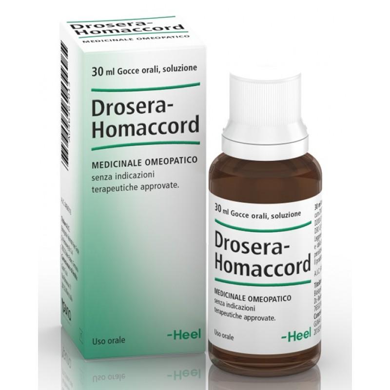 DROSERA HOMAC 30ML GTT HEEL
