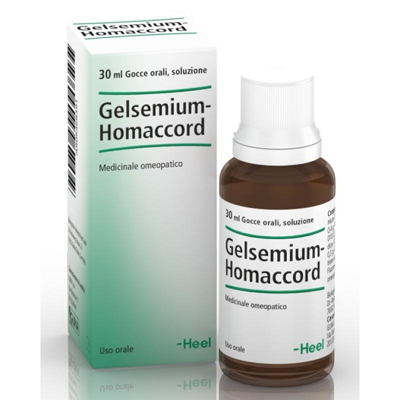 GELSEMIUM HOMAC 30ML GTT HEEL