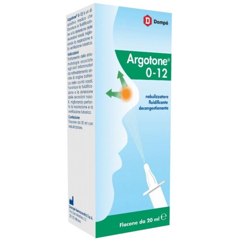 ARGOTONE 0-12 SPRAY NASALE 20 ML