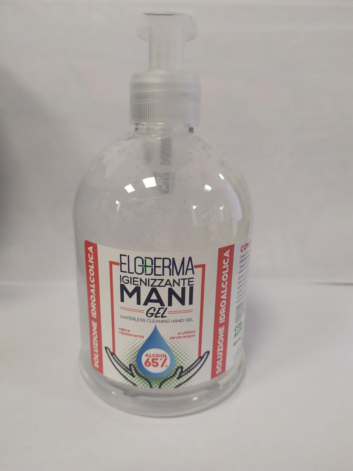Image of ELODERMA GEL MANI 500ML 8034055541241